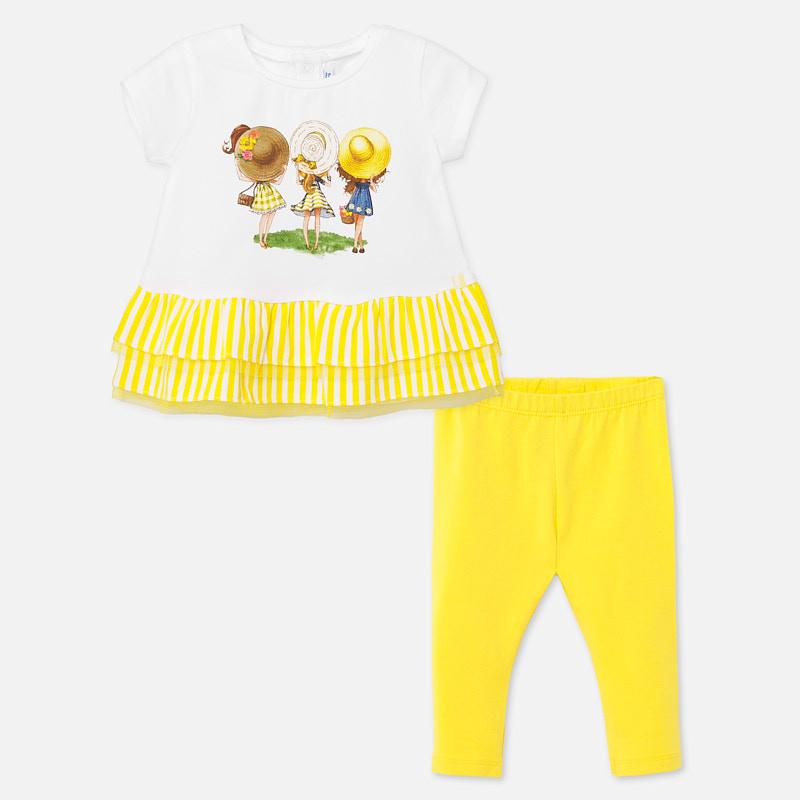 MAYORAL BABY Leggings SET Yellow 1708-52. Before £19.95
