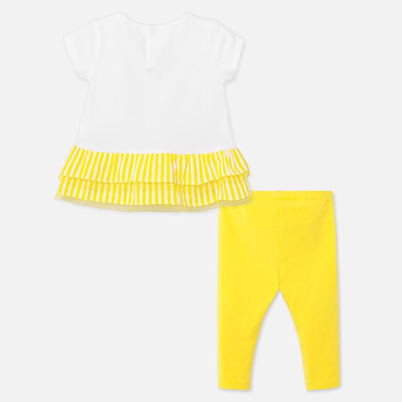 MAYORAL GIRLS Leggings Set Yellow 1708-52