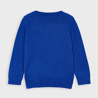 MAYORAL Boys Crew Neck sweater. Blue. 311-031