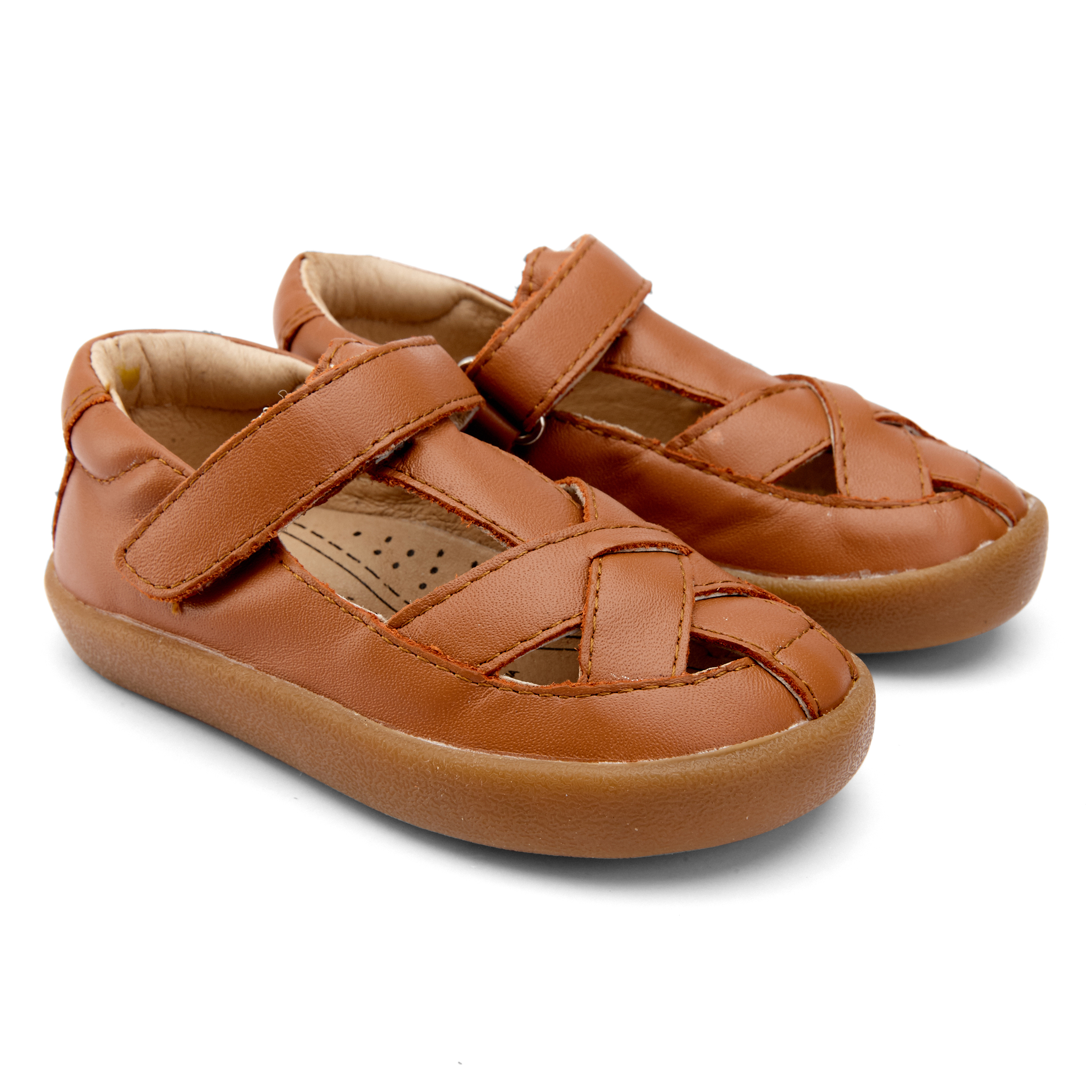 OLD SOLES Coolin-Off Tan Closed Toe Sandals 5057
