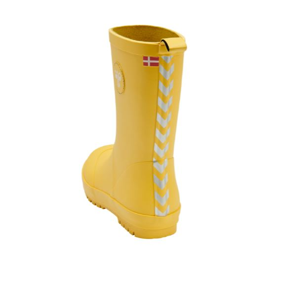 HUMMEL Boys/Girls Rubber Boot Yellow 206511-5001