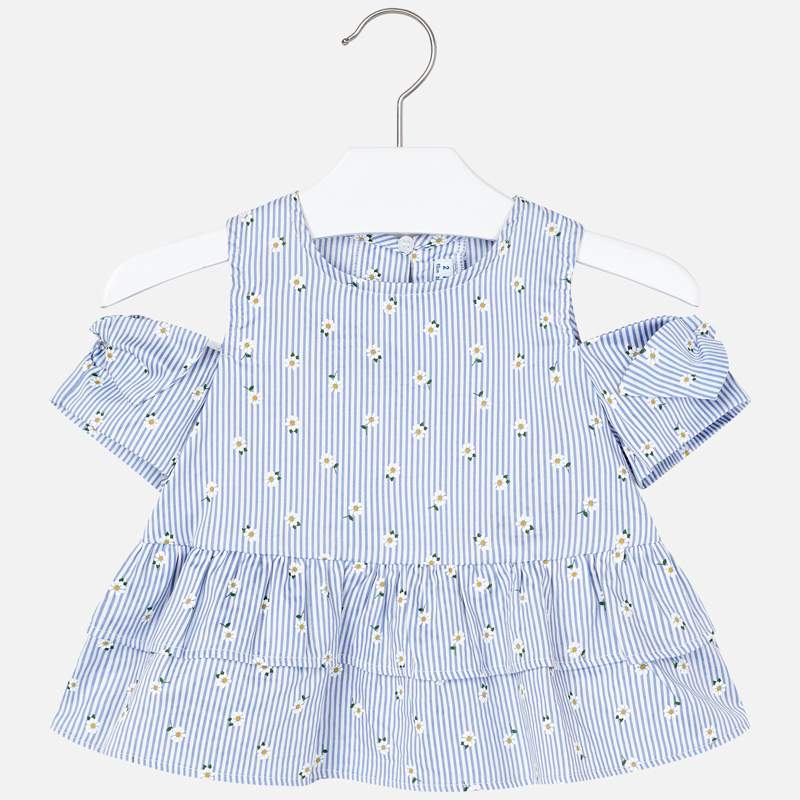 MAYORAL Girls Top Daisies  3184-34