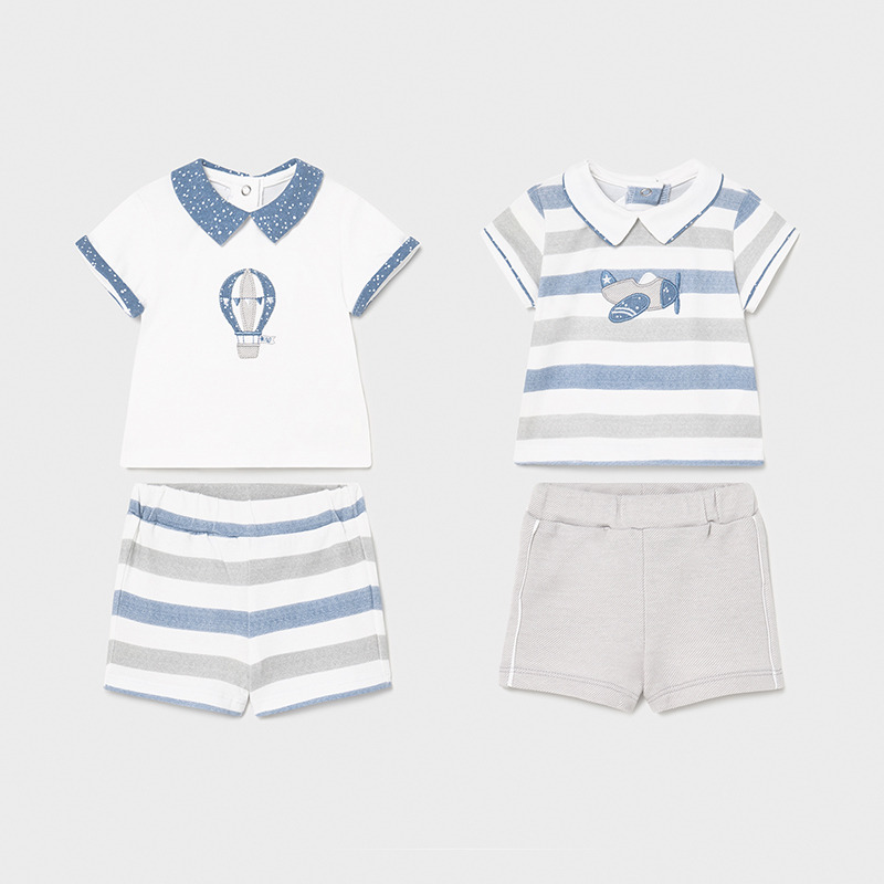 MAYORAL BABY BOY Knit Set 4 Pieces 01642-027
