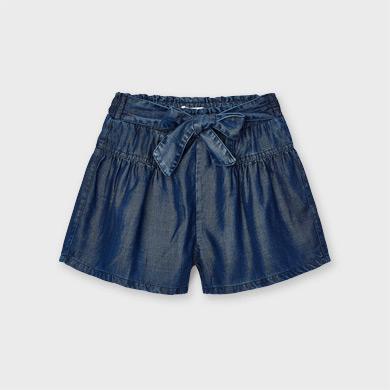 MAYORAL GIRLS Short 'Flowy' Soft Denim 3206-036