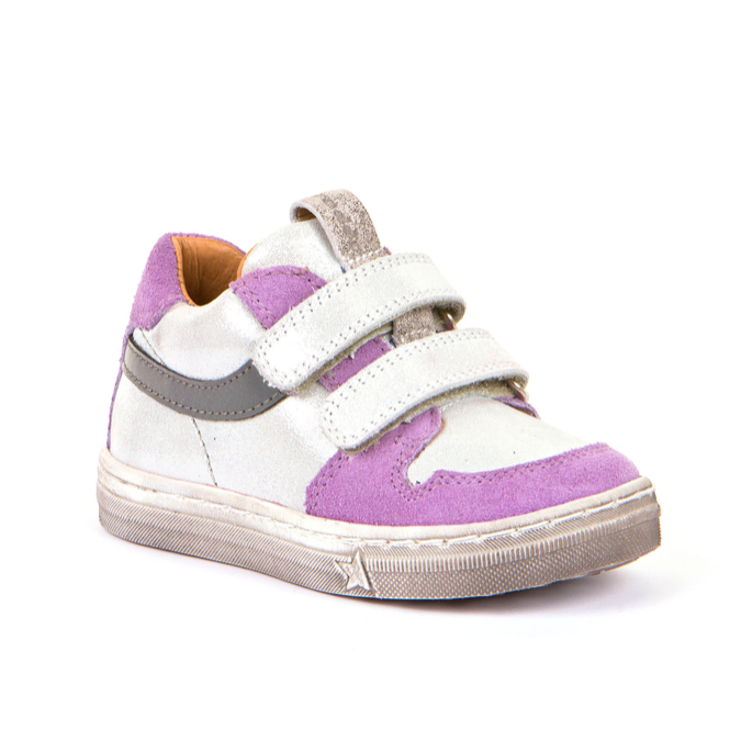 FRODDO Girls Double Velcro White/Lilac G2130198-7
