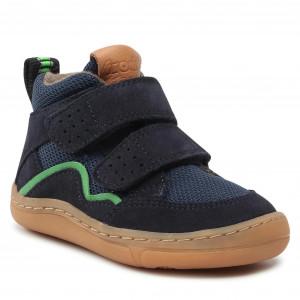 FRODDO Dark Blue Lined Velcro Barefoot Boots G3110194