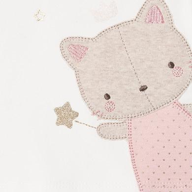 MAYORAL Baby Girl Cat Set Blush 2628-096
