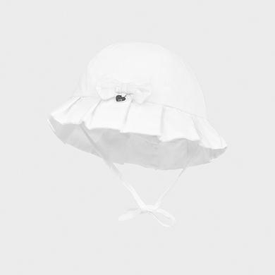MAYORAL NEWBORN GIRL White Hat 9373-091