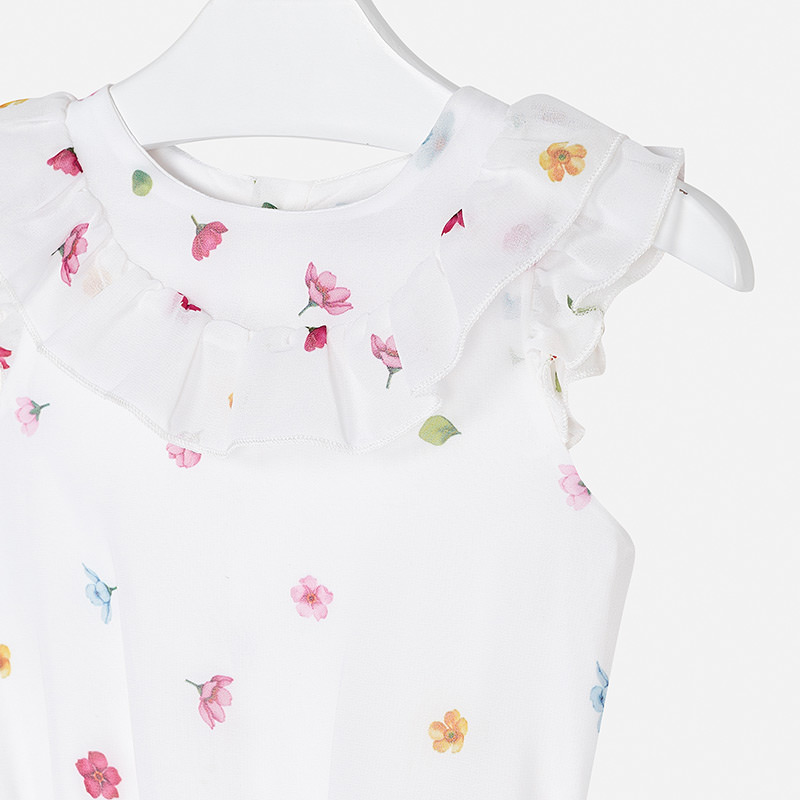 MAYORAL Girls Floral romper 3815-085