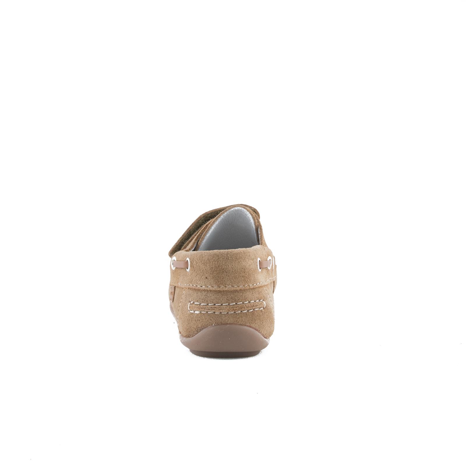 GARVALIN Boys Loafer Suede Camel 182350-E