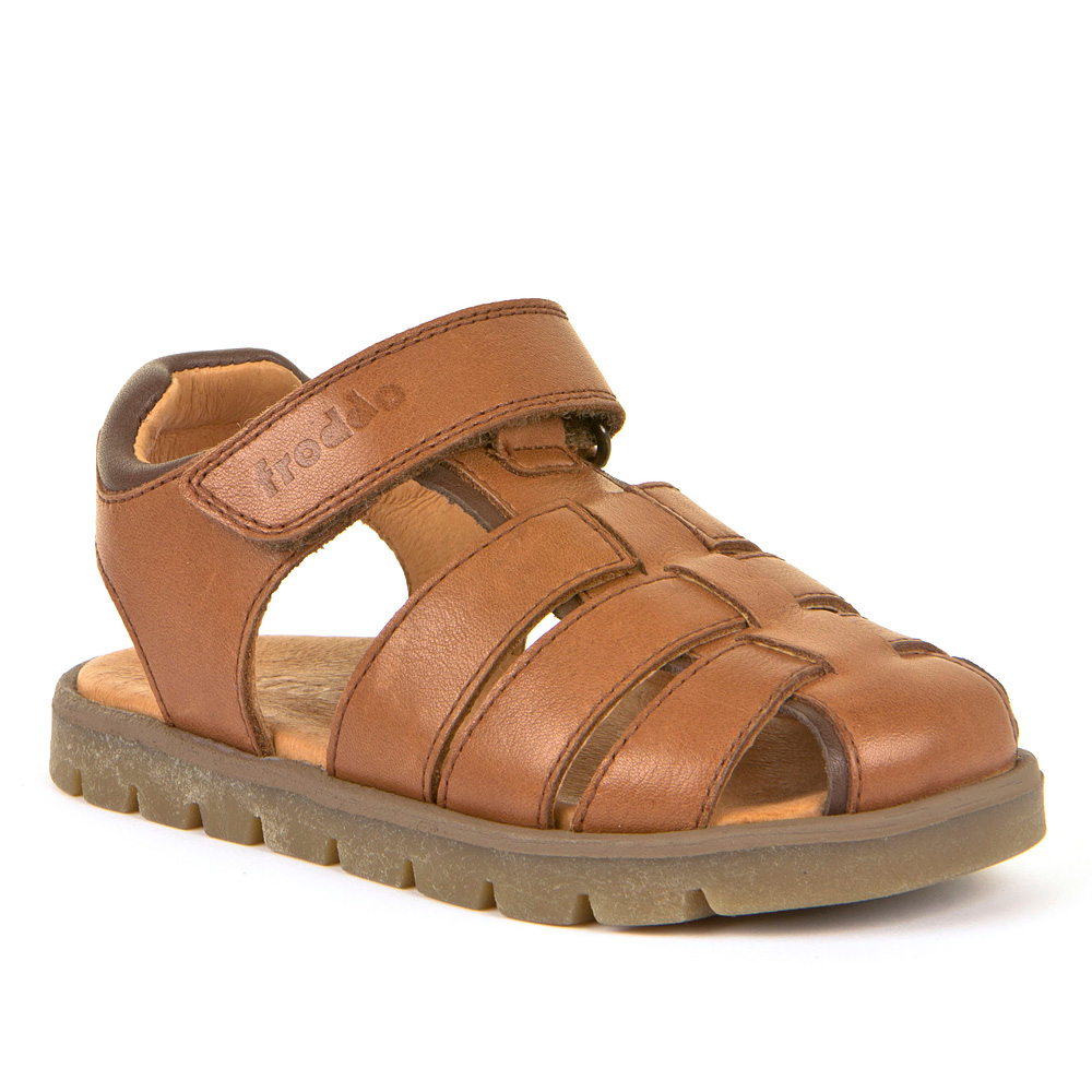FRODDO Boys Brown Roman Sandal G3150168-3