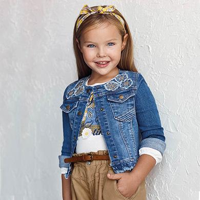 MAYORAL GIRLS Applique Jacket 3478-063