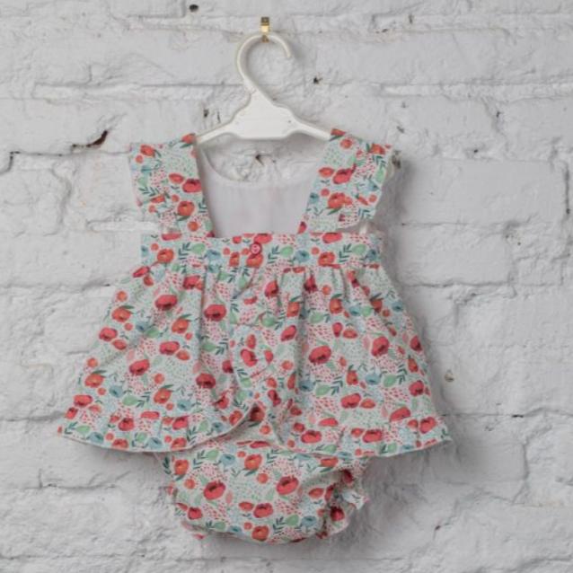 LAPEKI BABY GIRL Poppies