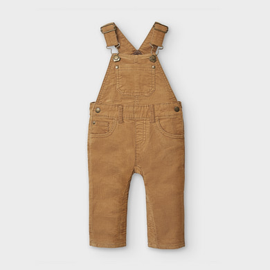 MAYORAL Boys Long micro-corduroy dungarees 2656-014 NOW £13.95