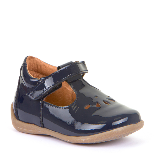 FRODDO Girls Navy Blue Patent G2140043-3