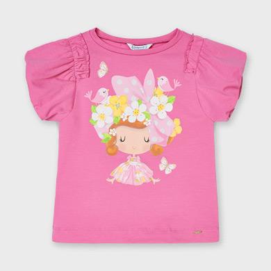 MAYORAL GIRLS Doll Shirt Pink 3002-022