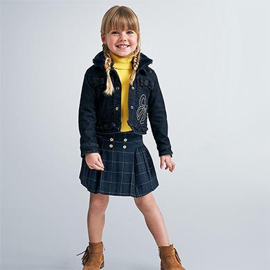 MAYORAL Girls Denim Jacket Navy 4406-052 NOW £19.95