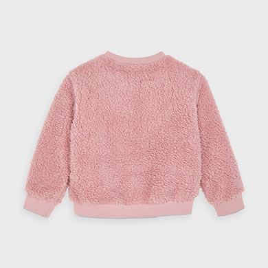 MAYORAL Girl 'Amore' Pink Jumper 4402-022
