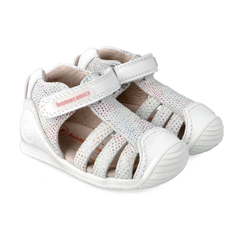 BIOMECANICS GIRLS White Closed Sandals 212116B