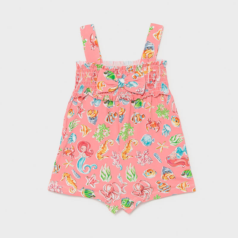 MAYORAL BABY GIRL Print Jumpsuit 1842-010