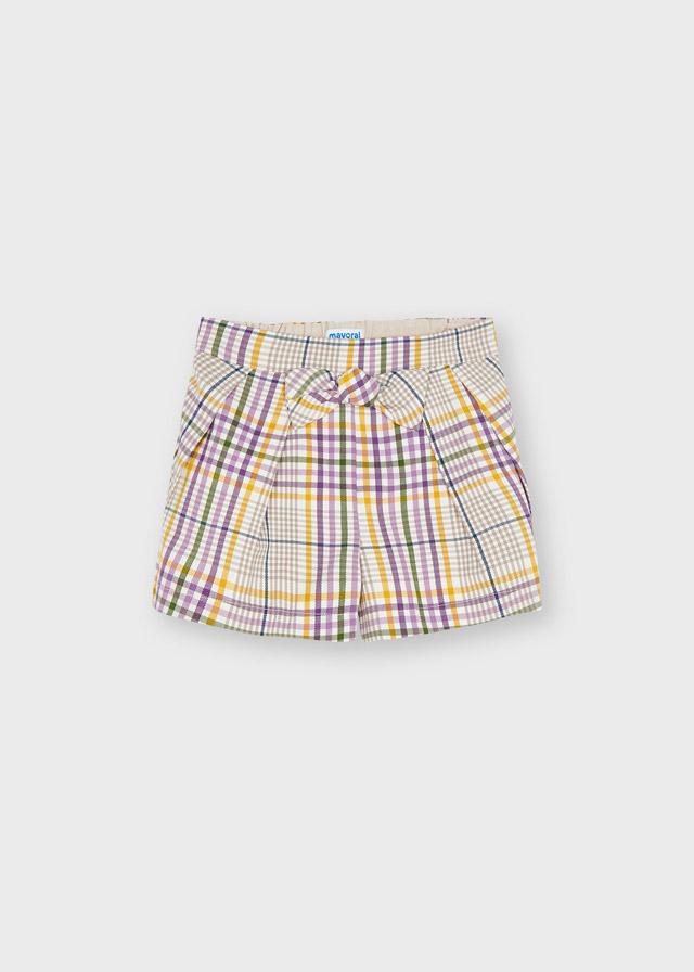 MAYORAL GIRLS Chequered Shorts 4209-21
