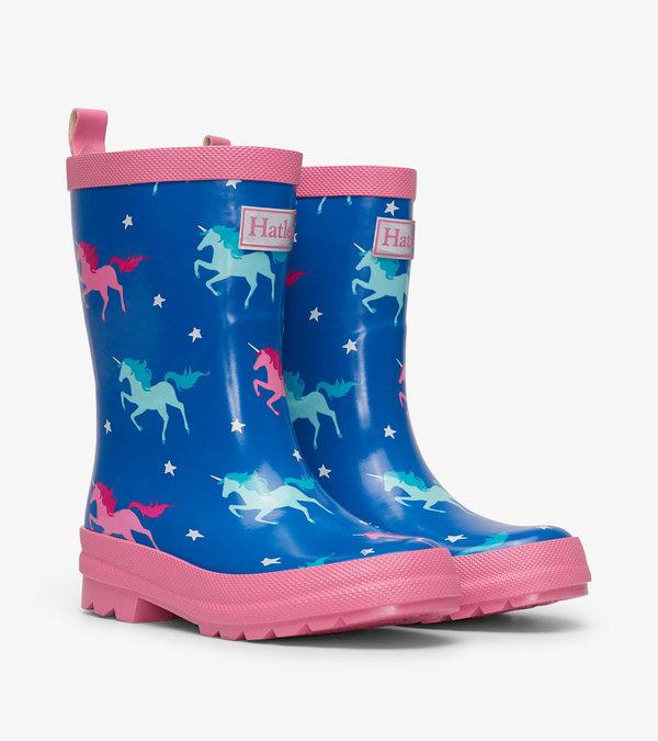 HATLEY Unicorn Rain Boots