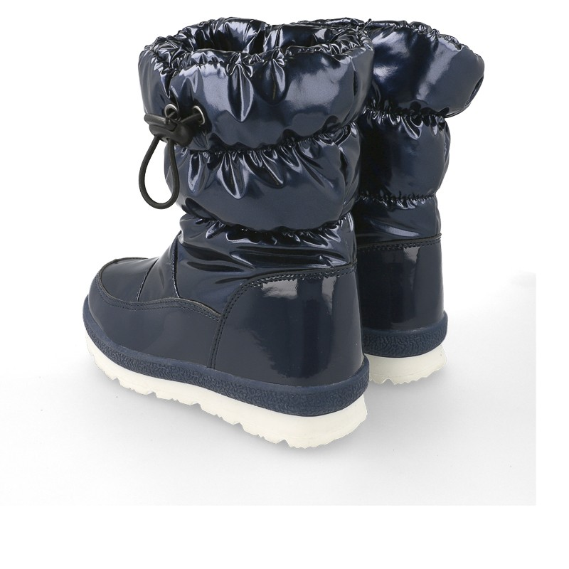 GARVALIN Snow Boots Marino Blue 191690-A- 26. Before £35.95
