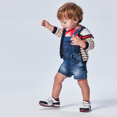 MAYORAL BABY BOY Ecofriends Soft denim Dungarees 1664-005 NEW SEASON