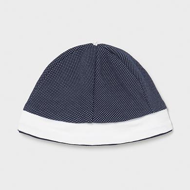 MAYORAL NEWBORN BOY Knit Onesie with Hat 1624-019 NEW SEASON