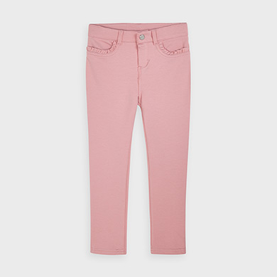 MAYORAL Girls Super Skinny pink trousers 511-89