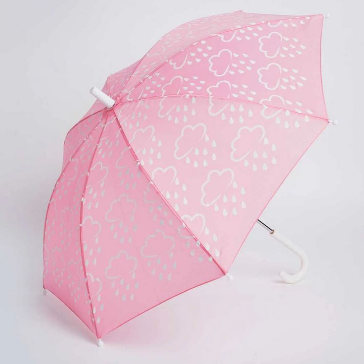 GRASS AND AIR Revealing Colours Umbrella - Pink