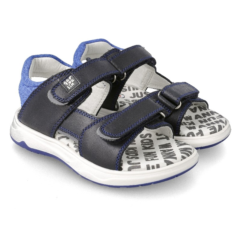 GARVALIN BOYS  Sandals Blue 212642-A