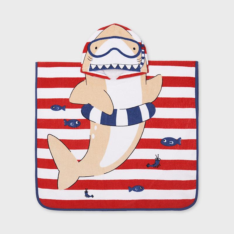 MAYORAL BABY BOY Towel with Hood 9926-058