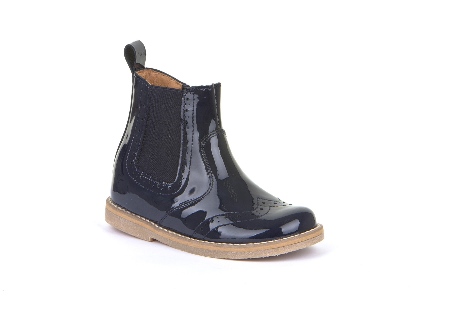 FRODDO Girls Chelsea Boots Blue Patent  G3160119-10 NOW £39.95