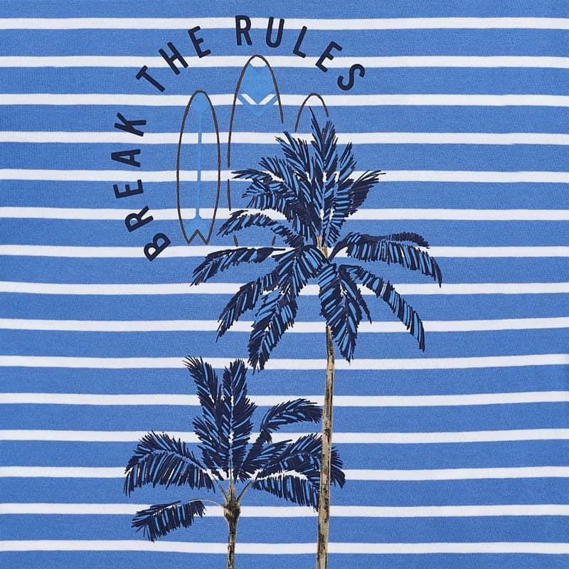 MAYORAL BOYS T-Shirt Windsurfing Navy/Stripes 3065-67