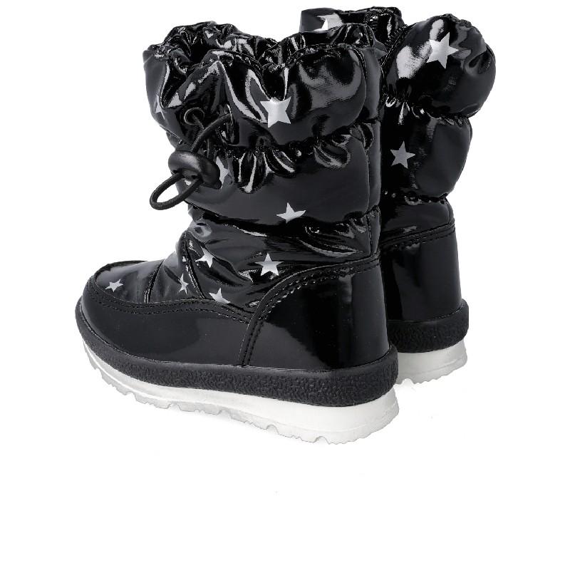 GARVALIN Snow Boots Black stars 201850