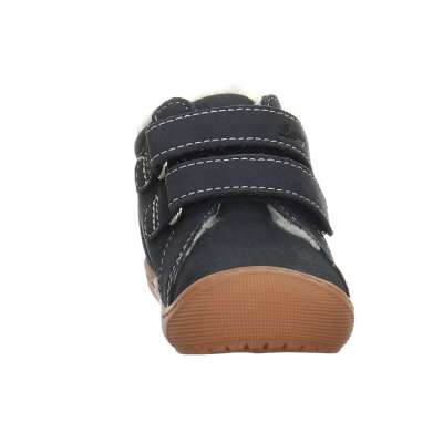 LURCHI Boys Ankle Boots Lined Fur Navy 33-12044-22 NOW £35