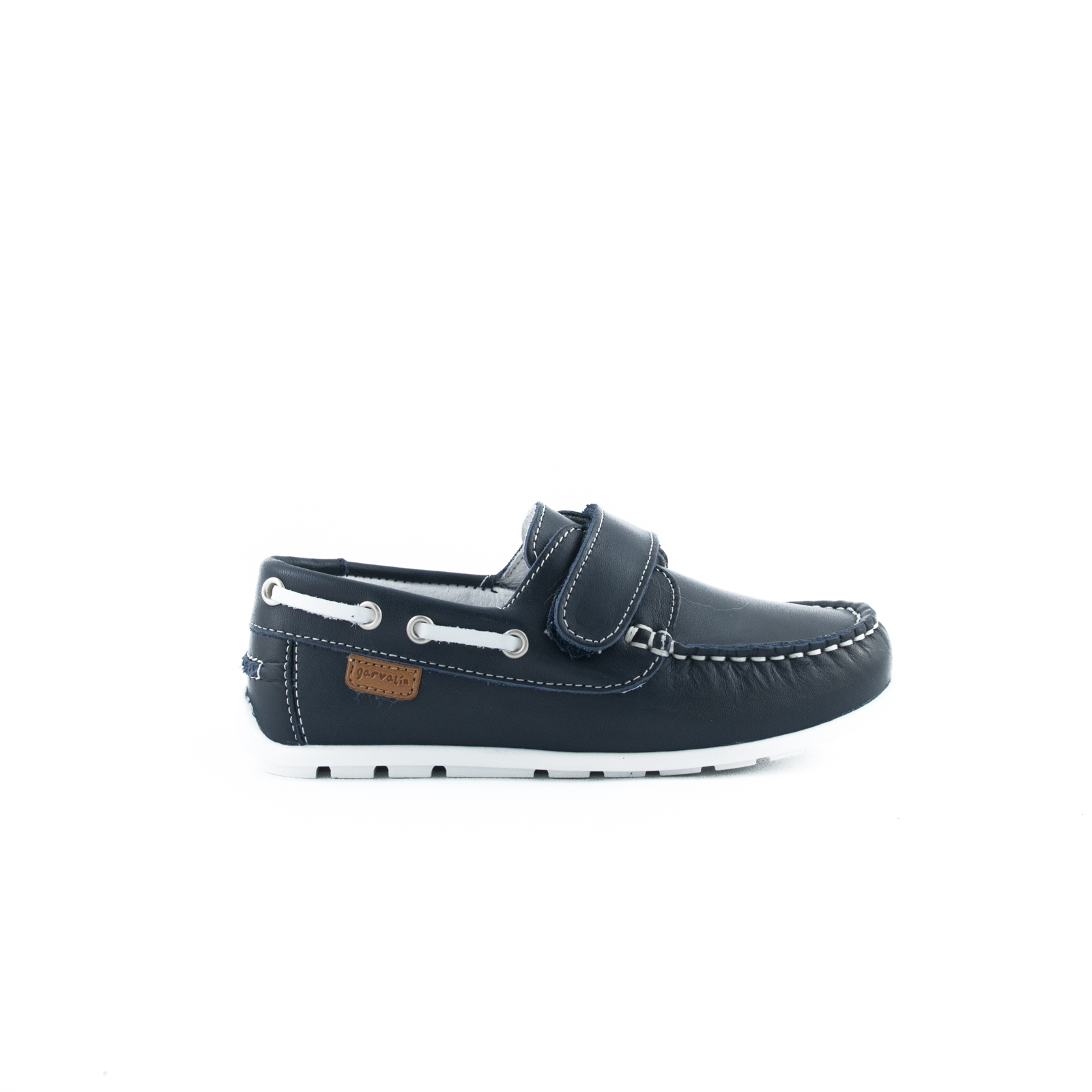 GARVALIN Navy loafers 182350-A