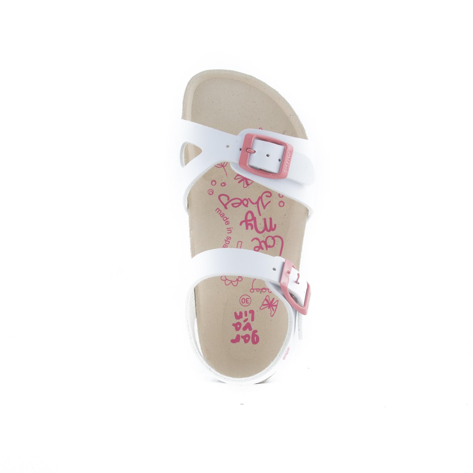 GARVALIN Girls Sandals White 192663-B NOW £25