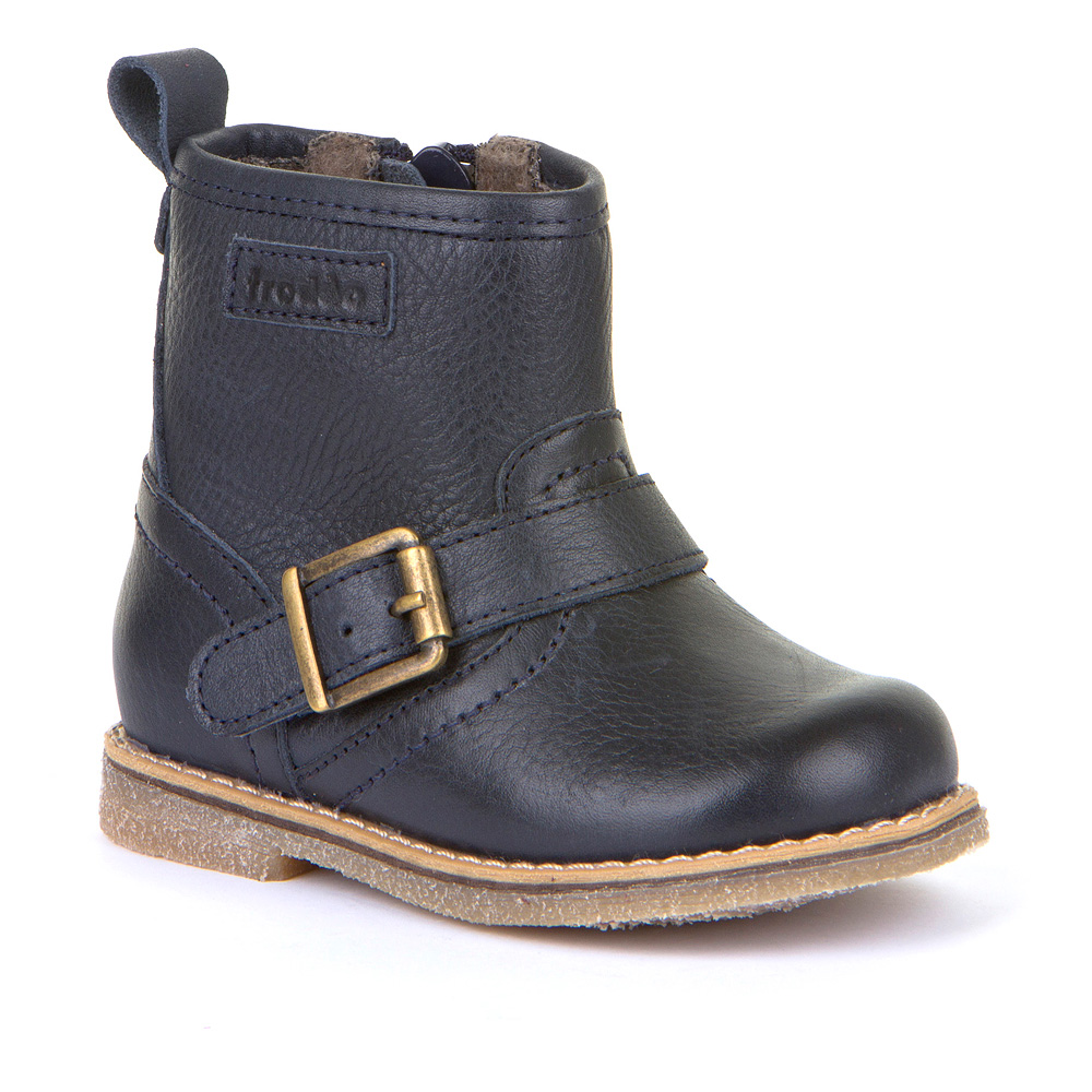 FRODDO Boys/Girls Boots Buckle Navy G2160055 NOW £39.95_Last Pair