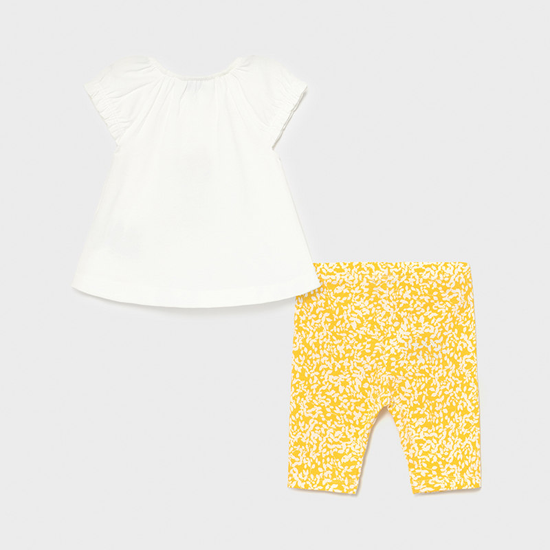 MAYORAL BABY GIRL Set T-Shirt and Leggings 'Giraffe' 1708-046