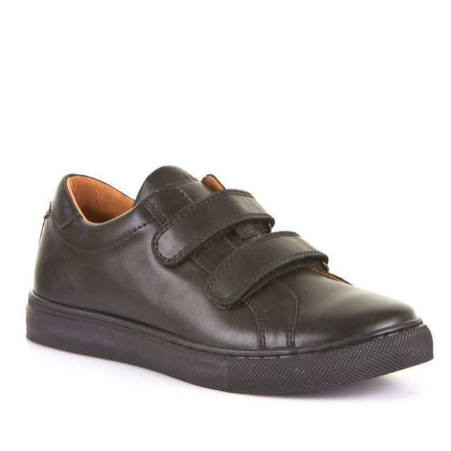 School Shoes FRODDO BOYS double Velcro plain G4130068