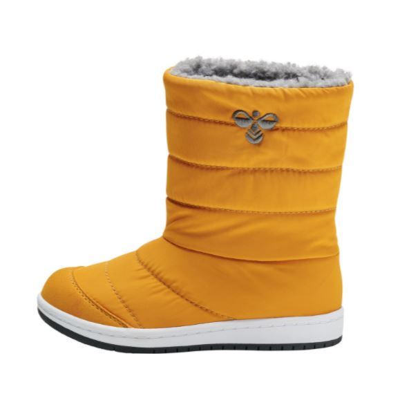 HUMMEL Boys/Girls Puffer Boots Waterproof Mustard 206860-5328 NOW £29.95