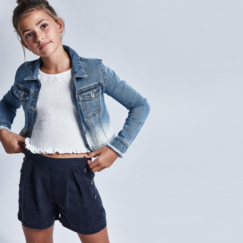 MAYORAL TEEN GIRL Short Sleeved Smoked T-Shirt 6015-025