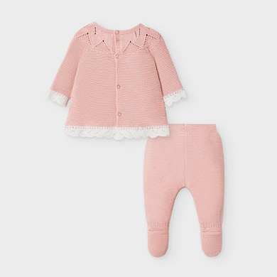 MAYORAL Girls Set 2 piece Knitted Blush 2549-029 NOW £14.95