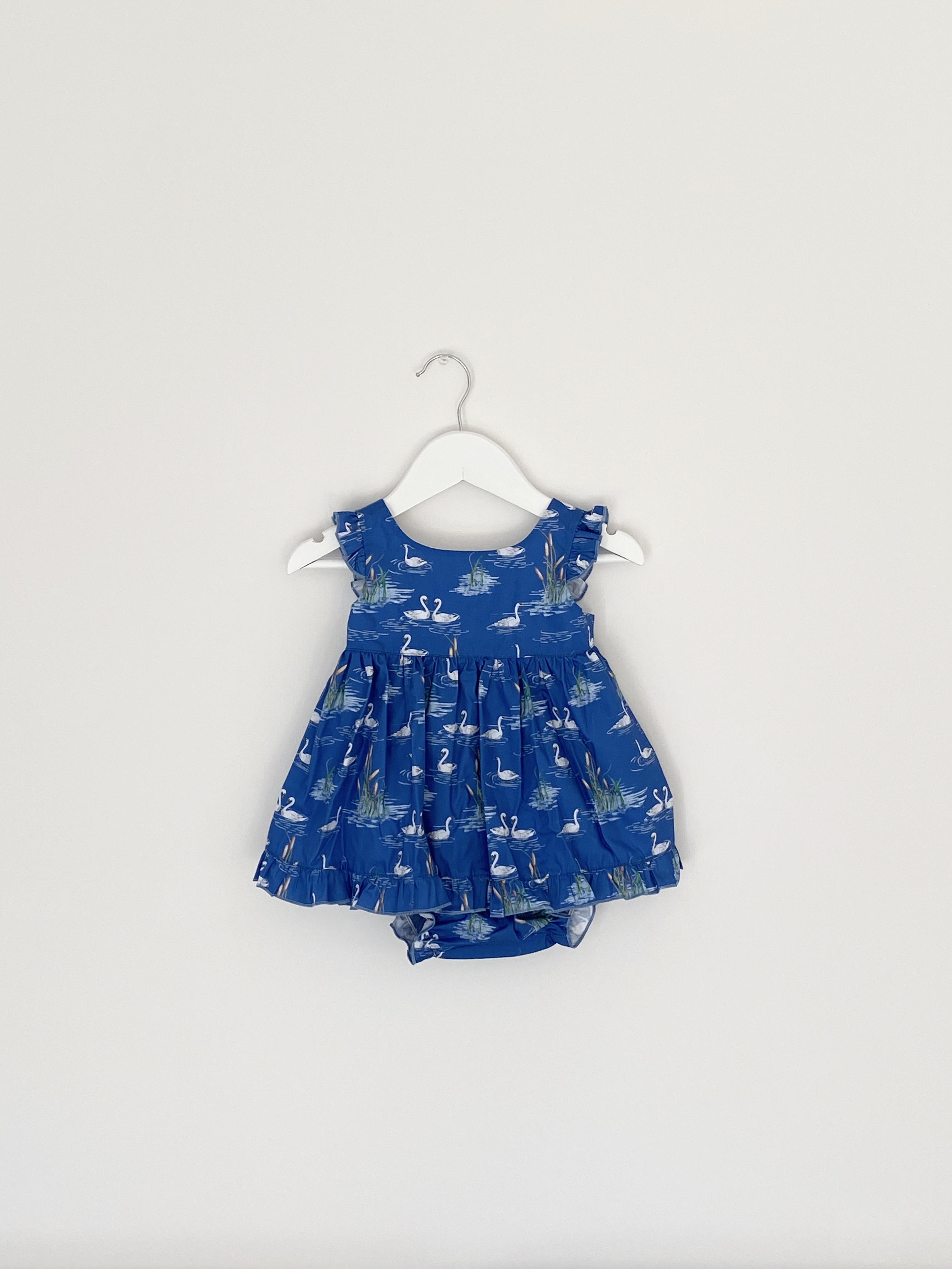 LAPEKI BABY GIRL Swan dress