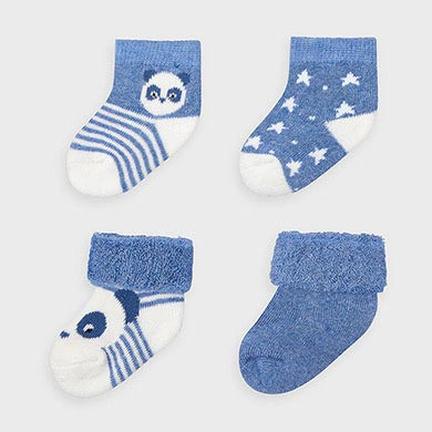 MAYORAL Boys Socks Set Blue 9302-80