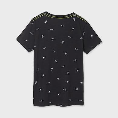 MAYORAL TEEN BOY All Over Print T-Shirt 6086-010 NEW SEASON