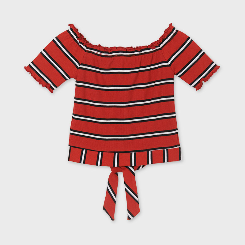 MAYORAL TEEN GIRL Striped Top 6003-002 COMING SOON!