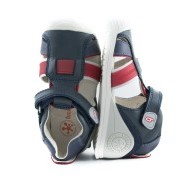 BIOMECANICS BOYS Navy and Red Closed Toes Sandals